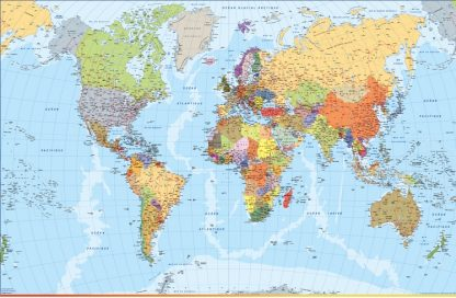 French World Map